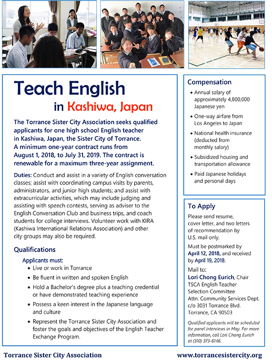 Teach English Flyer